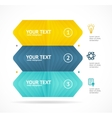 Option Baner Inographic Concept vector image