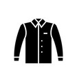 shirt-38 icon black sign on vector image