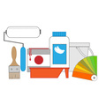tools for painting vector image