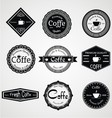 Vintage Coffe Labels vector image