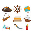 corsair childish toys vector image