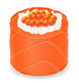 sushi rolls 05 vector image vector image