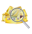 house search vector image