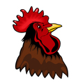 Rooster symbol vector image