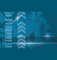 blue industrial modern background vector image vector image