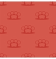 Metal Knuckles Silhouette Seamless Pattern vector image