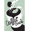 Titanic coffee vector image