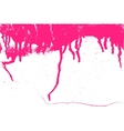 Paint Abstract Ponceau vector image