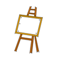 icon Easel vector image vector image