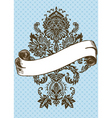 vector Victorian ornament and scroll vector image vector image