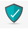 Check mark design Technology icon Isolated vector image