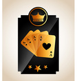 casino club design vector image