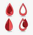 set hemophilia day to community treatment vector image