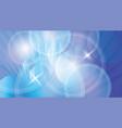 blue futuristic backdrop vector image vector image