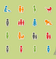 people and family vector image