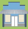 Store shop facade vector image