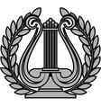 hellenic lyre vector image vector image