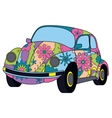 car colorful vector image