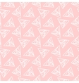 Light pink triangle geometric pattern vector image