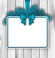 Merry Christmas Elegant Card vector image