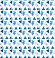 Seamless geometric patterntriangle pattern vector image