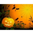Drawing by day halloween with vector image