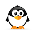 funny and sweet penguin vector image