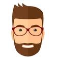 Smiling Man Cartoon vector image