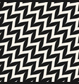 zigzag diagonal chevron seamless curved pattern vector image