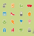 mothers day simply icons vector image