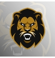Angry Lion symbol emblem sport logo vector image