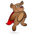Bear Superhero vector image