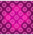 Seamless purple pattern vector image