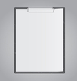 Tablet for paper vector image vector image