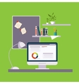 Home Freelance Office vector image