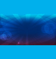 blue bright background vector image