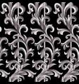 silver plant vector image vector image