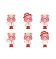 cute swine pig businessman man 3d realistic vector image
