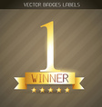 winner golden label vector image