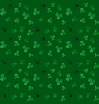naturalistic colorful seamless pattern of green vector image