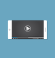 Video on phone vector image
