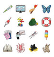 education fishing antiquity and other web icon vector image