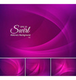 Swirl abstract background vector image vector image