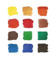 Watercolors spots vector image vector image