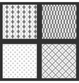 four frames of wallpapers design vector image