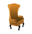 A chair is placed vector image