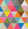 Triangle Pattern vector image