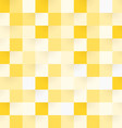 Yellow Square Pattern vector image vector image