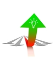 Concept of growth vector image