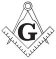 Masonic Square vector image